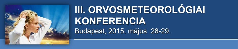 III. Orvosmeteorológiai Konferencia